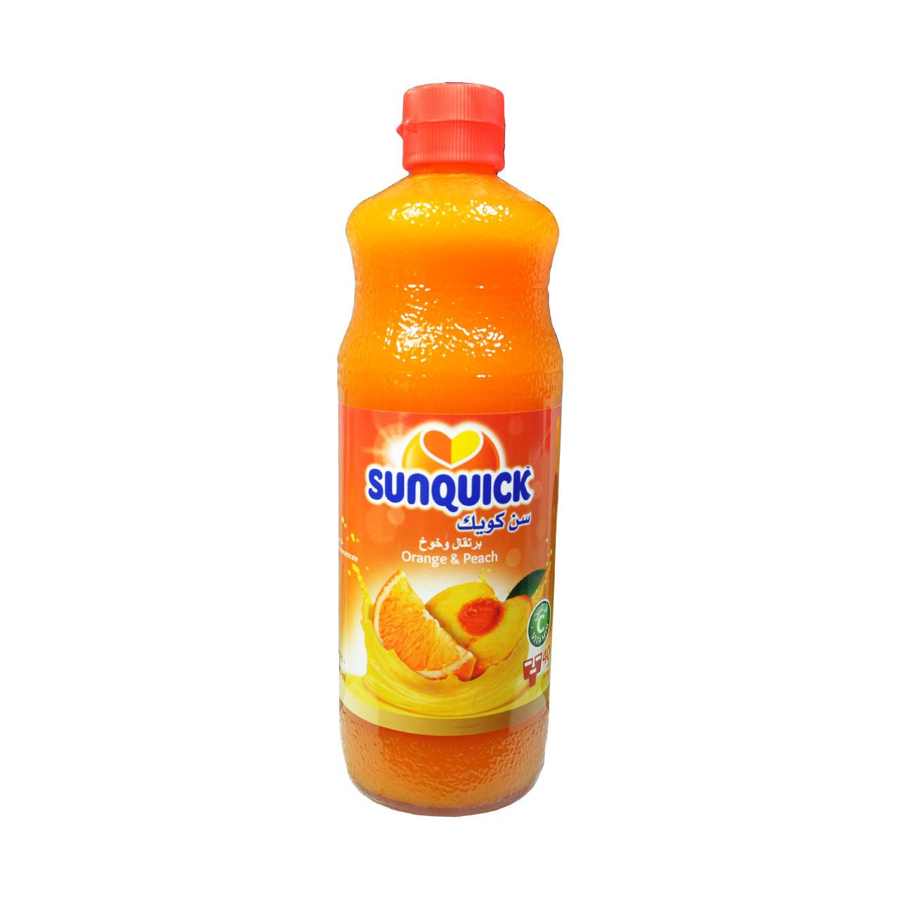 شربت هلو سن کوییک – sunquick
