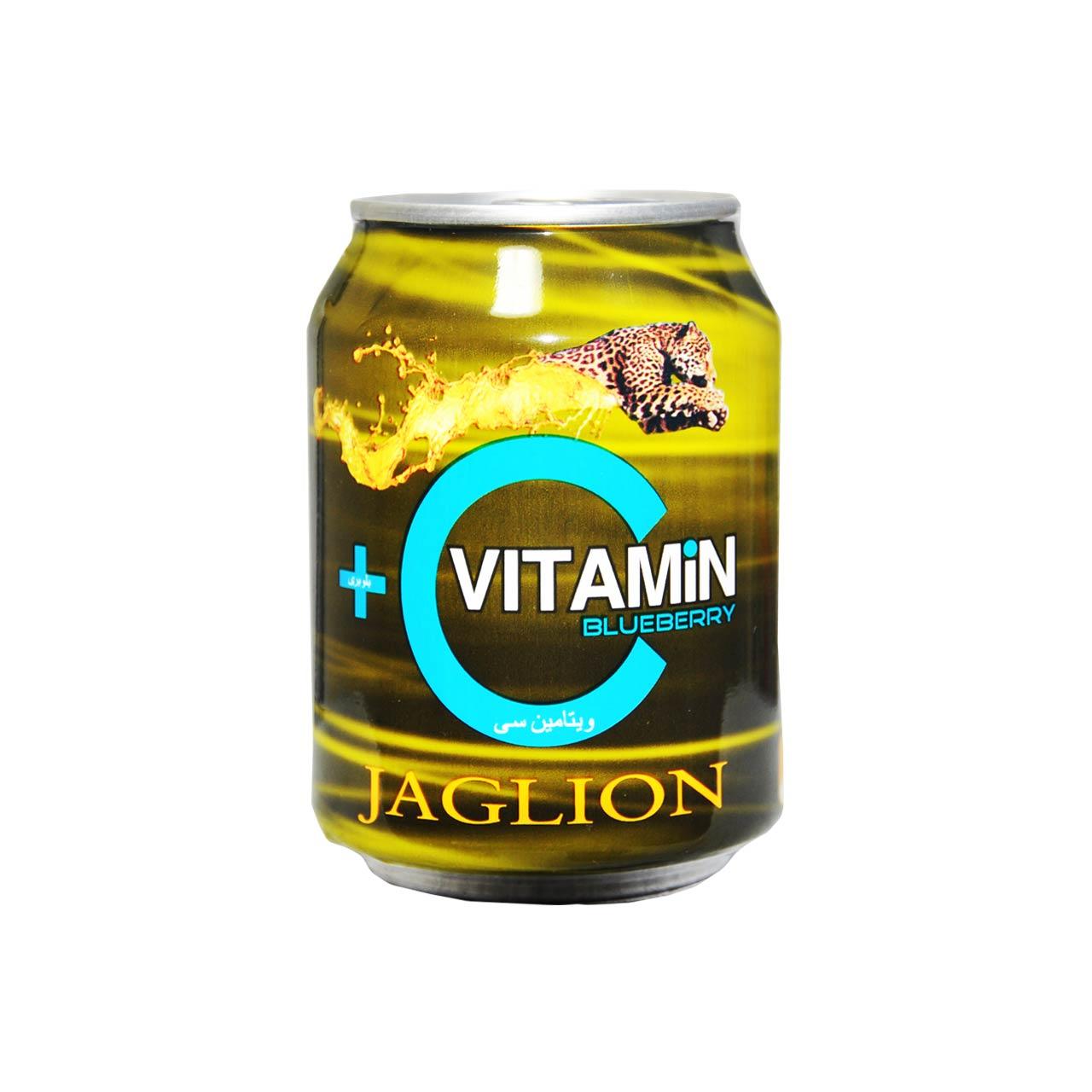 نوشیدنی انرژی زا ویتامین سی با طعم بلوبری