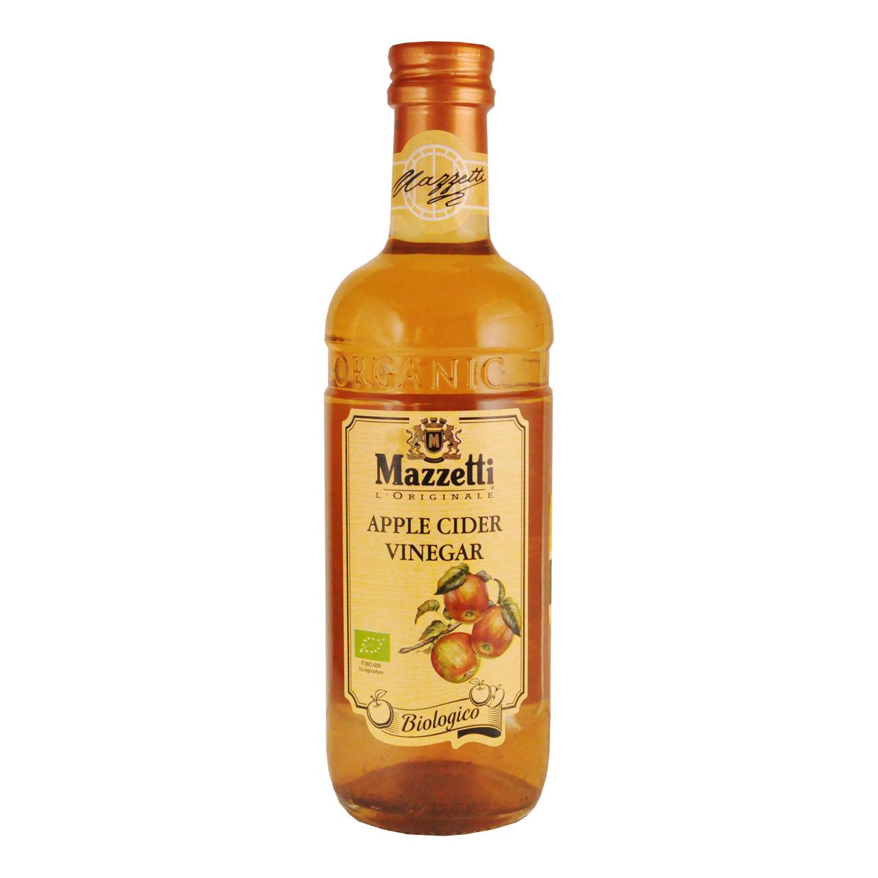 سرکه سیب ارگانیک مازتی – mazzetti