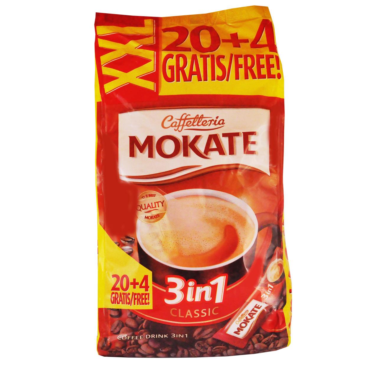 کافی میکس ۳ در ۱ موکاته ۲۴ عددی – mokate