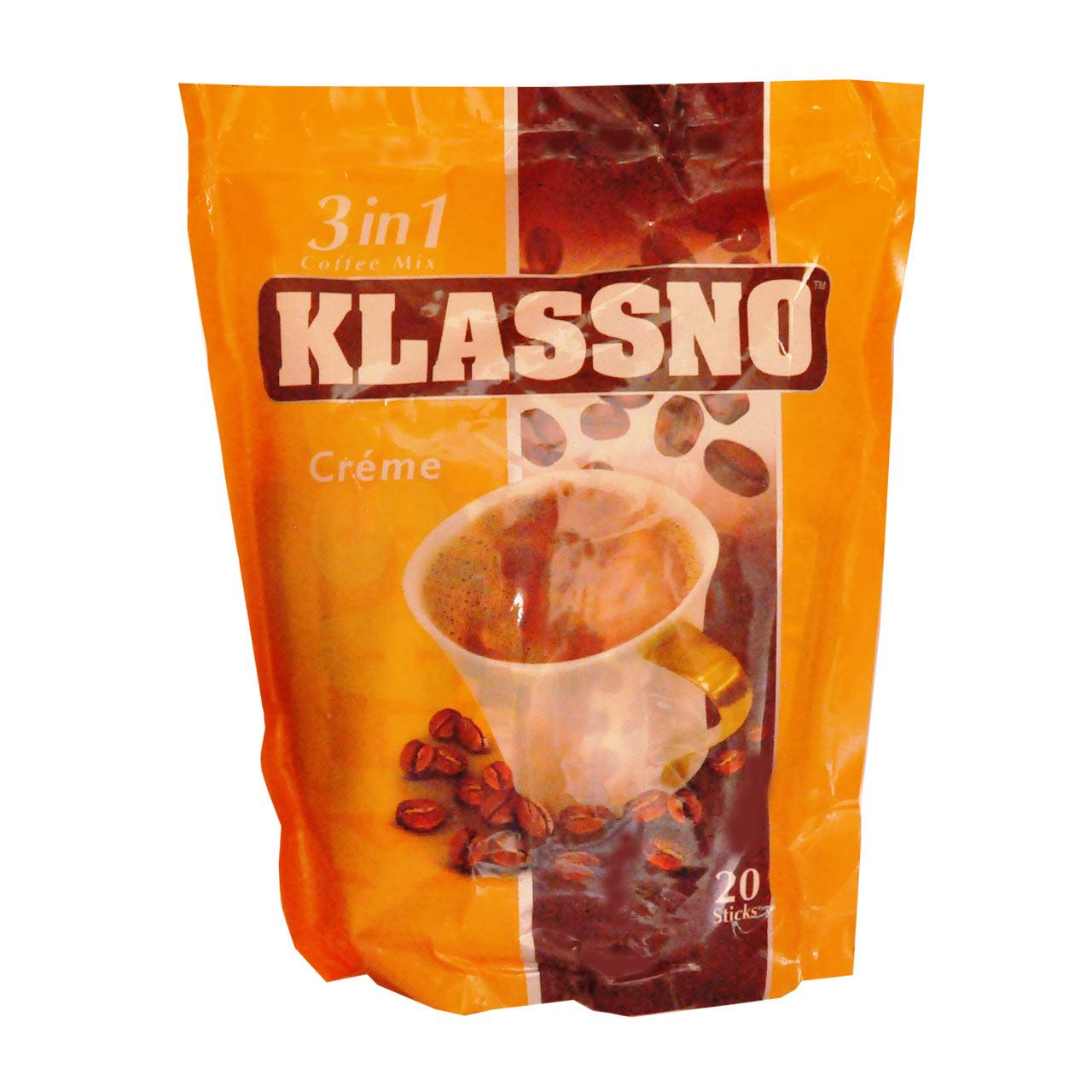 قهوه فوری کلاسنو ۳ در ۱ کرمدار – klassno