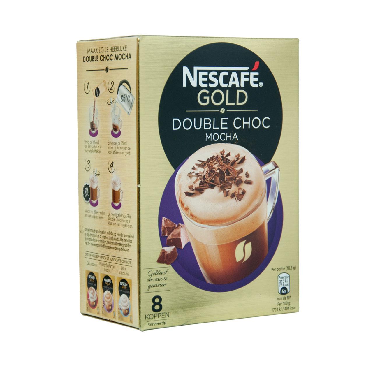 قهوه فوری موکا دبل چاکلت