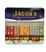 بیسکوییت فور چیز جعبه فلزی کادویی جاکوبز – jacob's