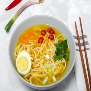 سوپ نودل کره ای