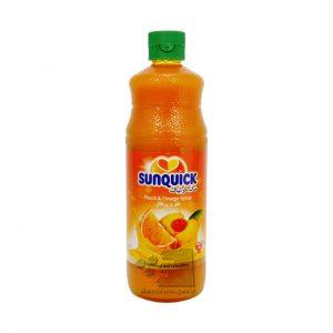 شربت هلو و پرتقال