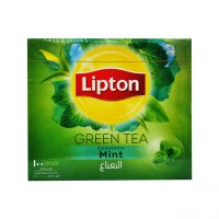 چای سبز با نعنا