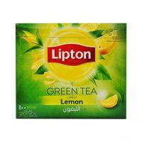 چای سبز طعم دار لیپتون