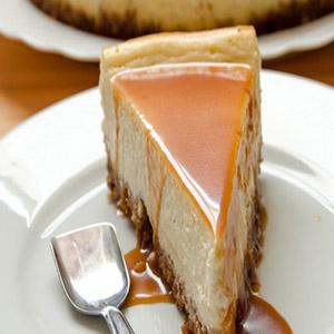 چیز کیک کاراملی