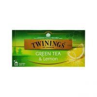 چای سبز با طعم لیمو