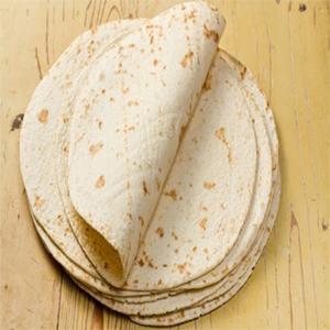 ترتیلا برای تاکو غذای مکزیکی