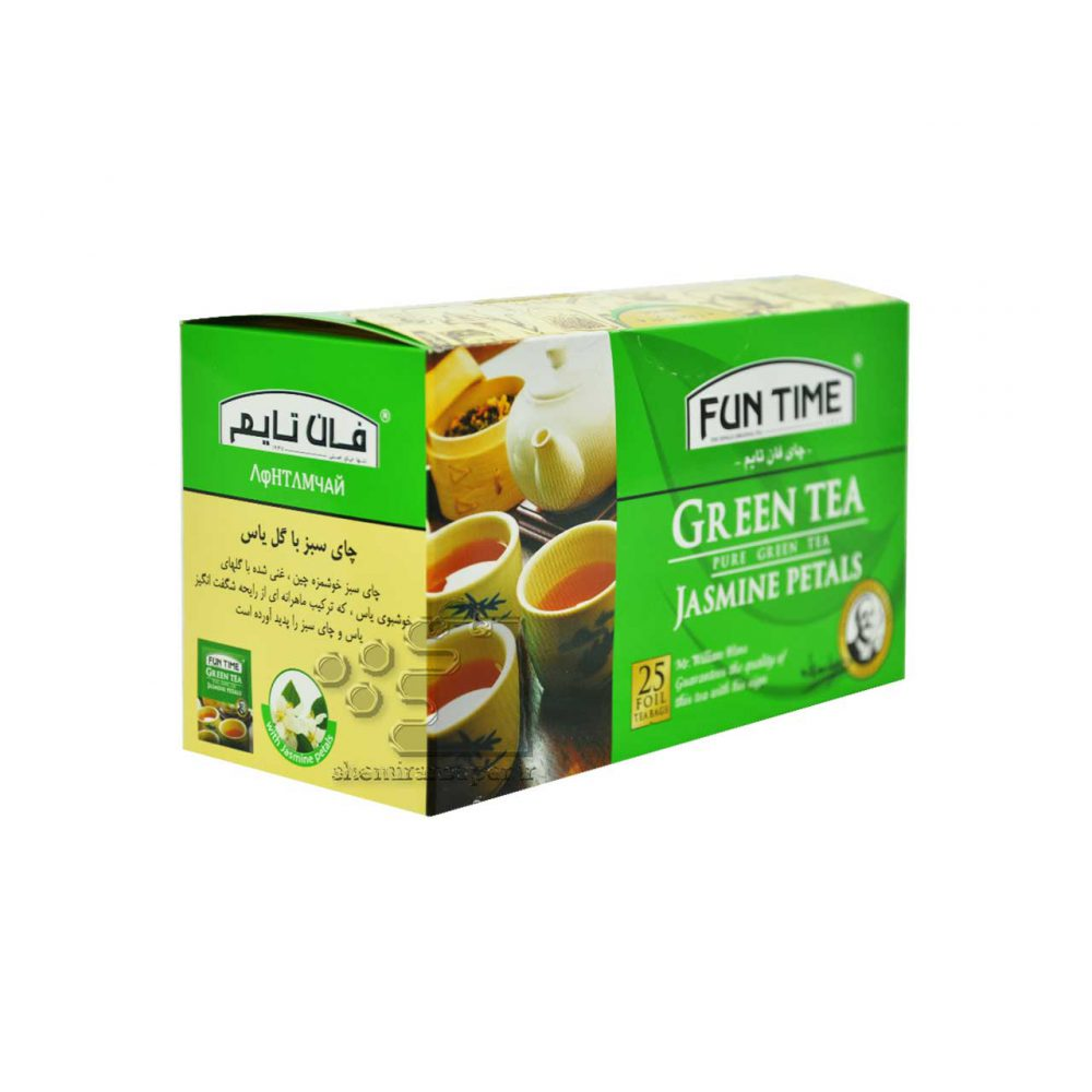 چای سبز عطری