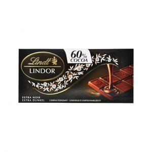 شکلات تلخ 60 درصد لینت