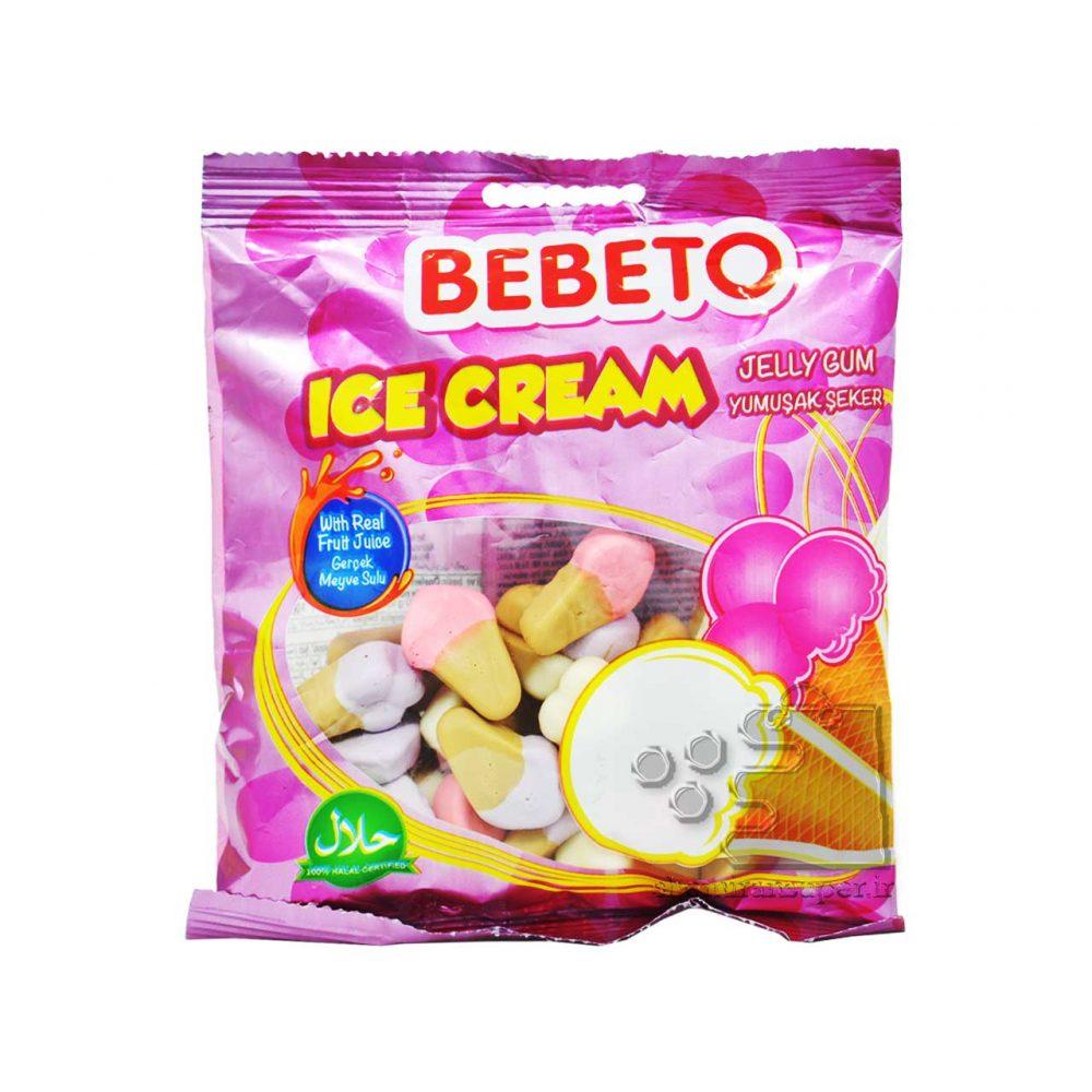 پاستیل بستنی ببتو