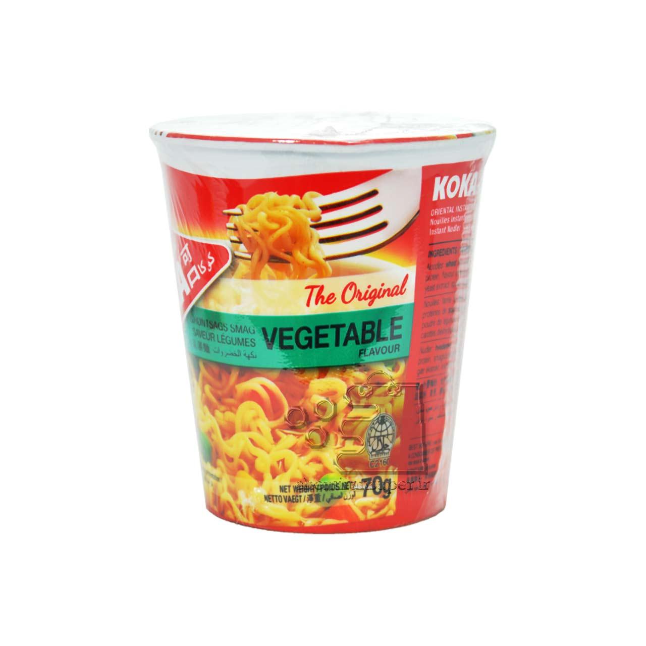 نودل سبزیجات ظرفی