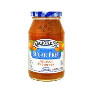 مربا زردآلو بدون شکر