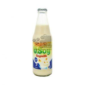 شیر سویا شیشه ای