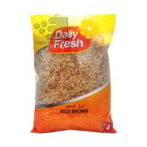 برنج قهوه ای دیلی فرش
