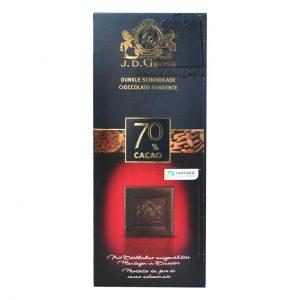 شکلات تلخ جی دی گراس