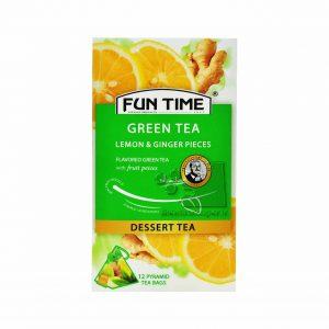 چای لیمو زنجفیل